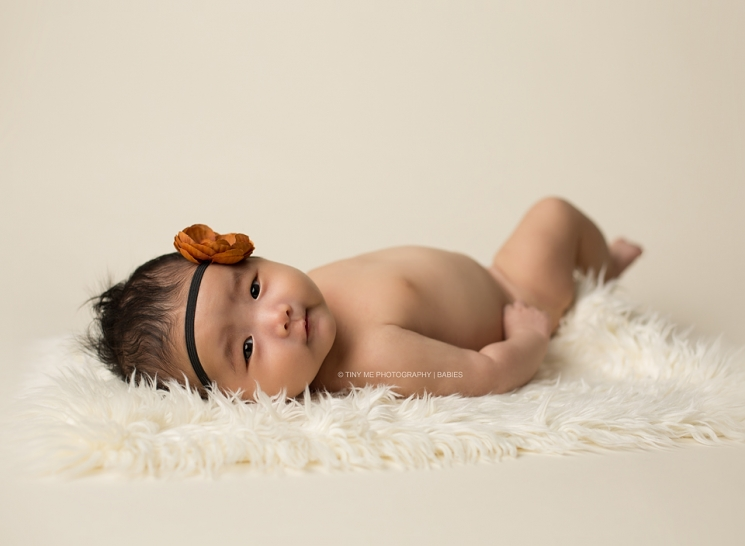 Eagan MN Baby girl at her 2 month photography session