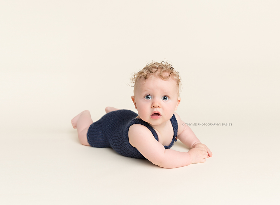 6 month old portraits  Heidi Hope Photography